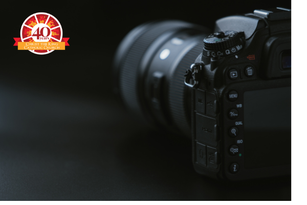 Camera, photo directory, with 40an logo