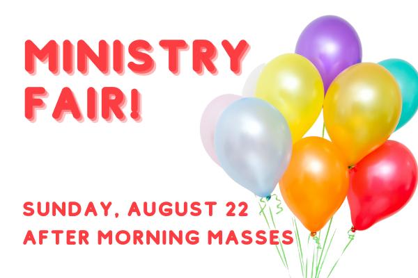 Ministry Fair, website (2)